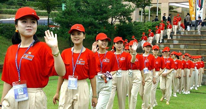 AFP 2018 Kim Jae Hwan L'armée des beautés nord-coréennes qui fait de l'ombre à son équipe olympique