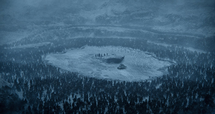 This photo provided by HBO shows a scene from the sixth episode of the seventh season of HBO's Game of Thrones.
