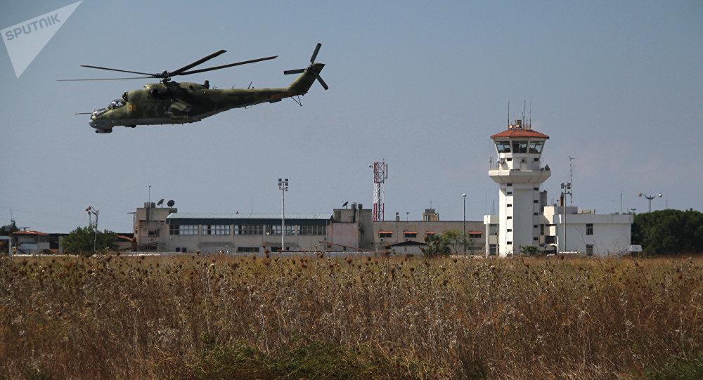 Un Mi-24 en Syrie