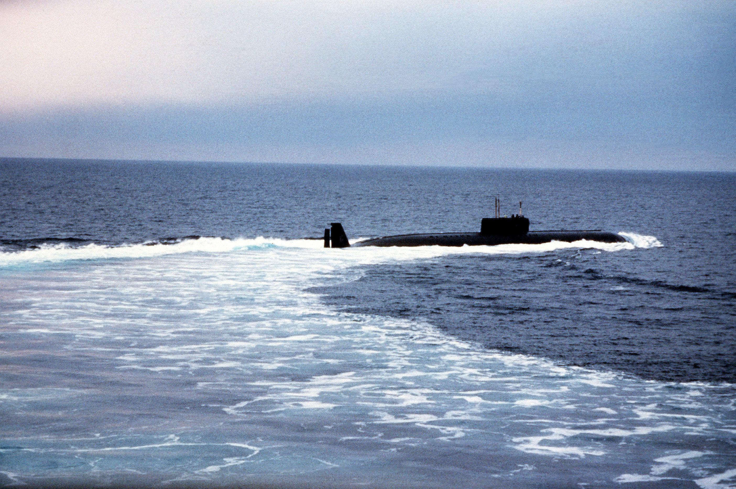 Un sous-marin du projet 661 Antchar