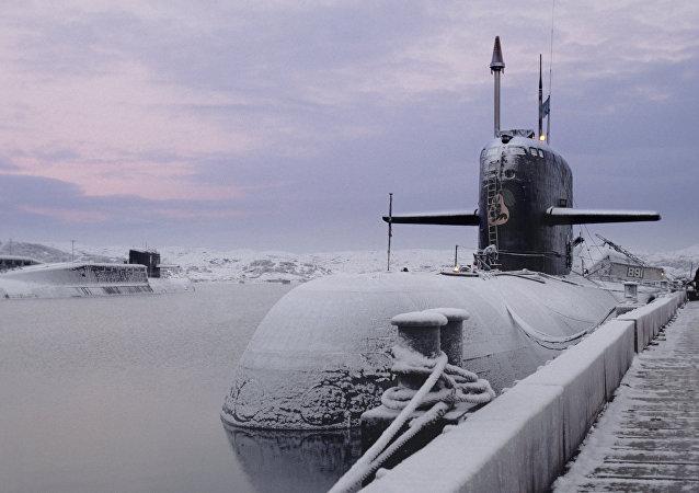 Un sous-marin nucléaire du projet 949A Anteï
