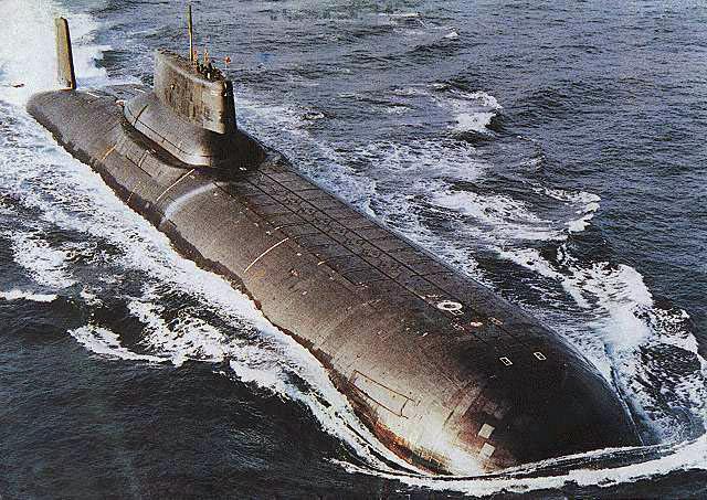 Sous-marin russe du projet 941 Akoula