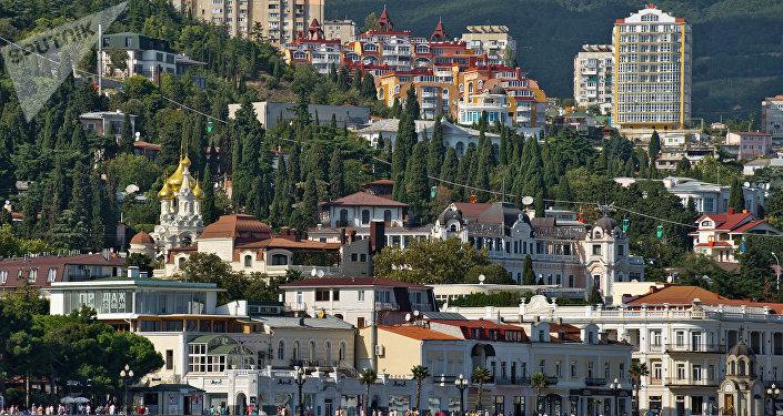Une vue de la Crimée