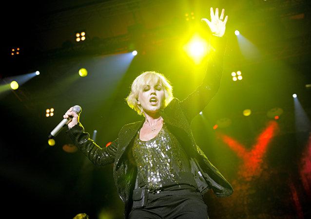 Dolores O'Riordan, en 2012