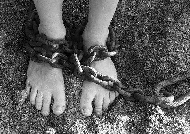 Une esclave