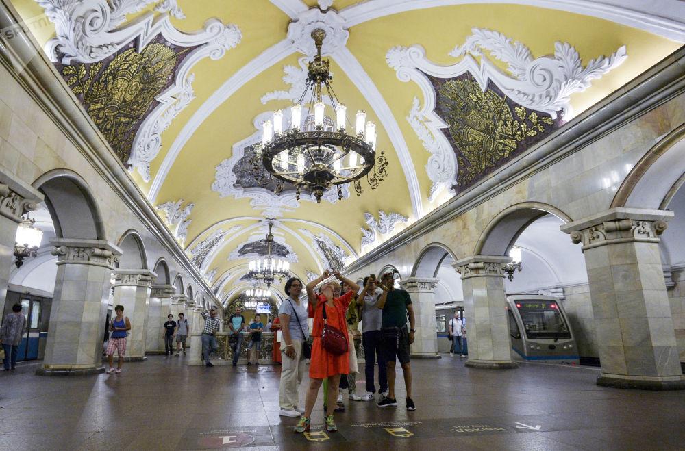 Beauté et splendeur du métro moscovite