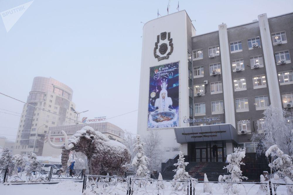 Les grands froids en Iakoutie