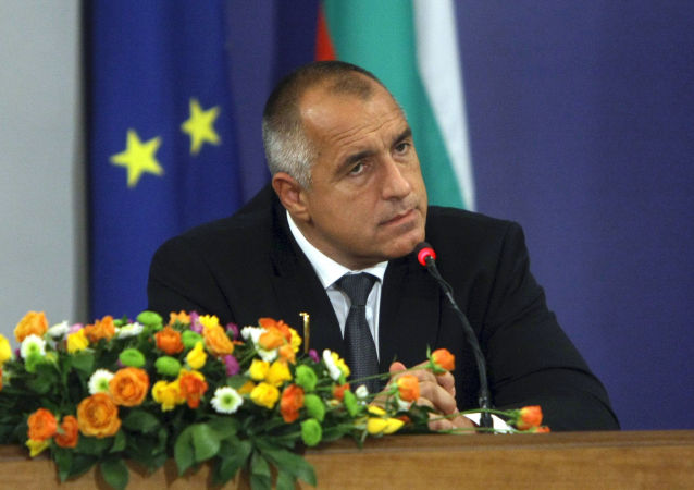 Le Premier ministre bulgare Boïko Borissov