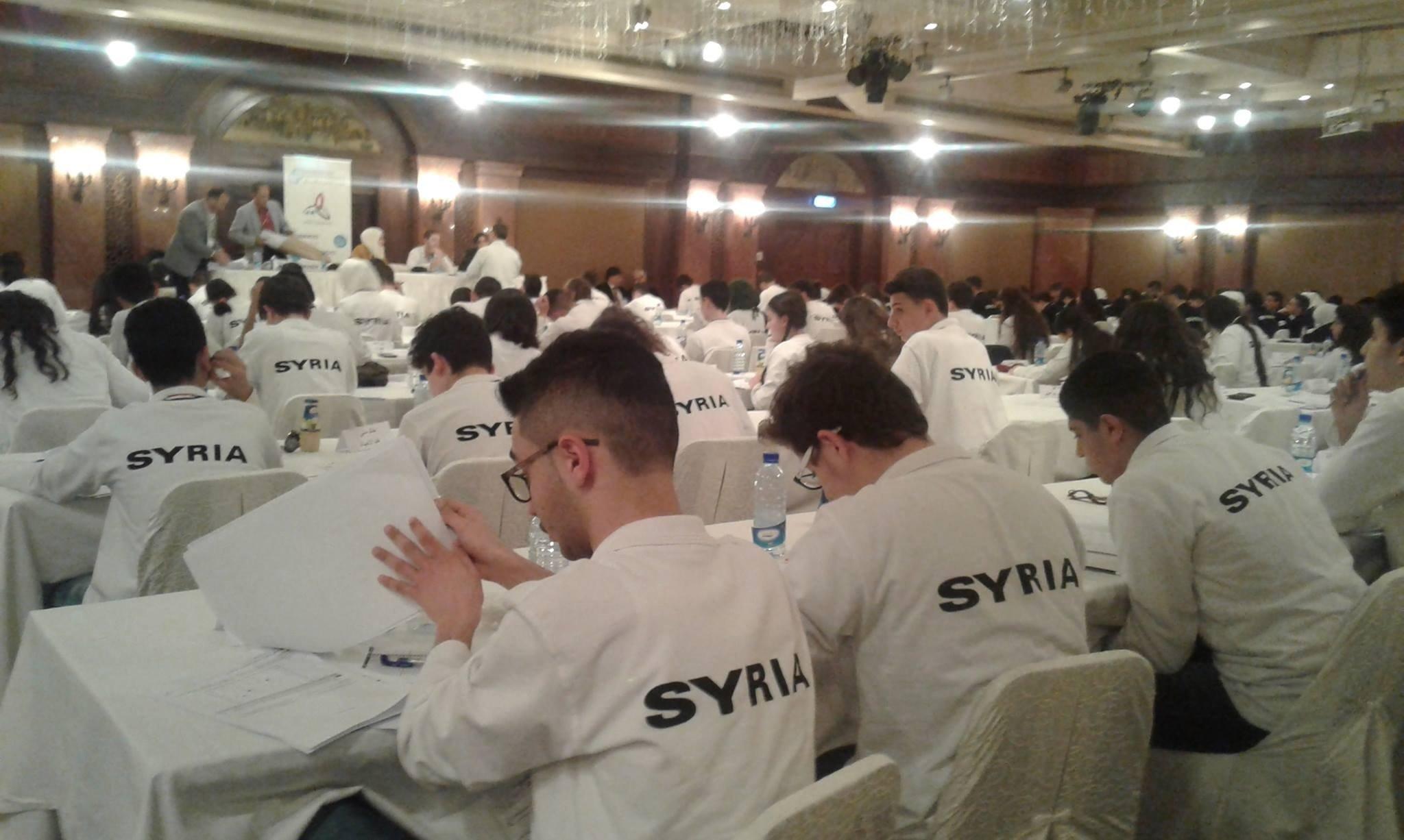 Finales des Olympiades scientifiques syriennes 2017-2018
