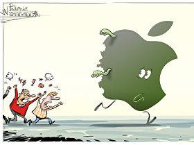La crise des iPhone