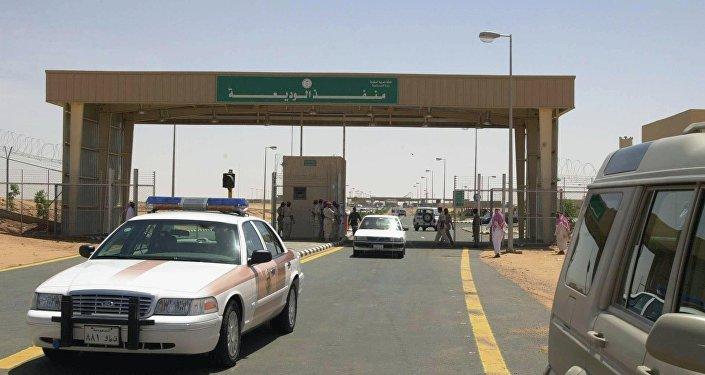 Frontière entre l'Arabie Saoudite et le Yémen, près de Najran