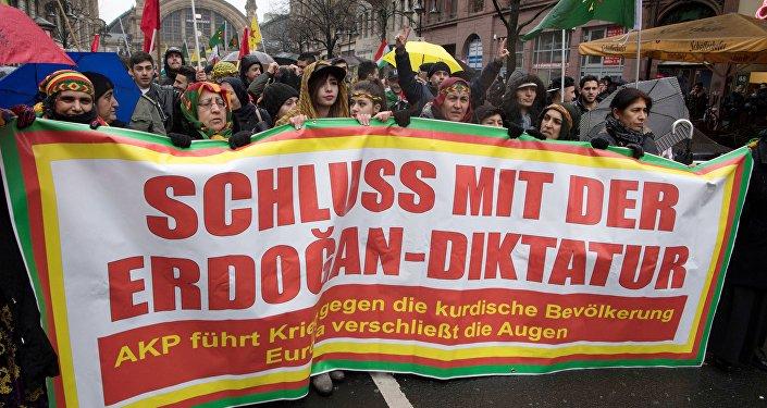 Europe: des rassemblements pro-kurdes en pleine opération turque à Afrine (images, vidéos)