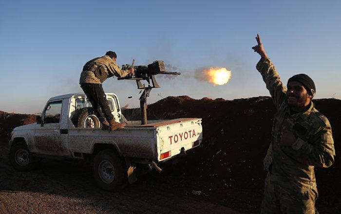«Rameau d'olivier»: opération antikurde des troupes turques en Syrie
