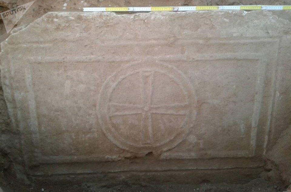 Découverte archéologique des sapeurs syriens