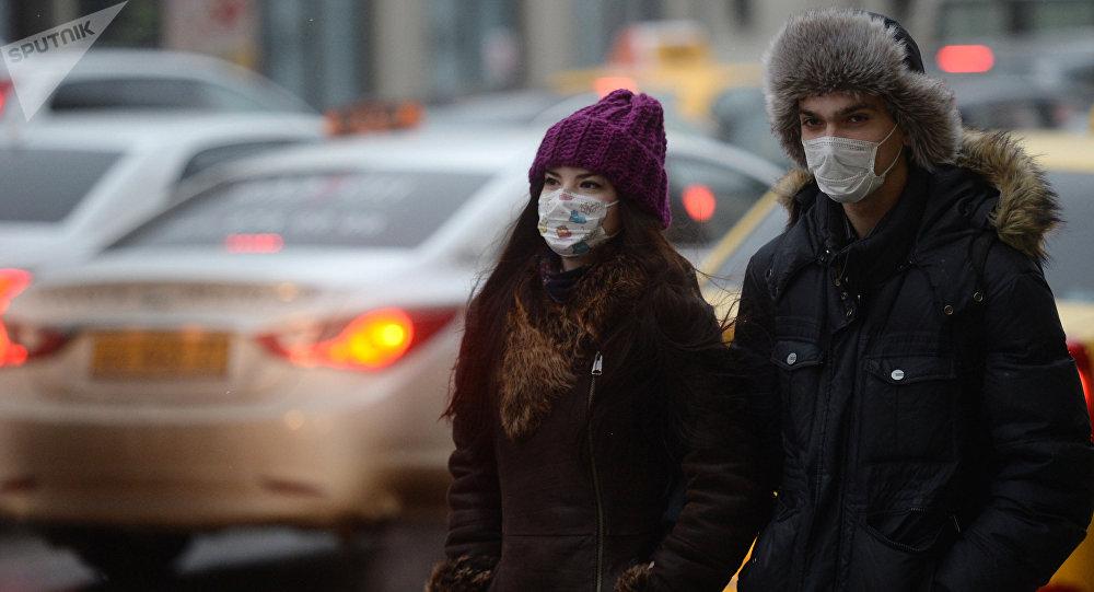 La saison de la grippe à Moscou