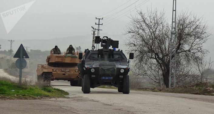 Les forces armées turques à Afrine