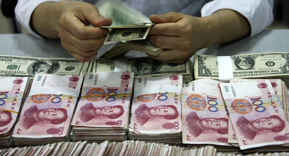 Yuans et dollars
