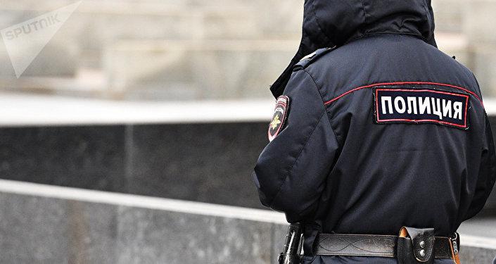 Policier à Moscou