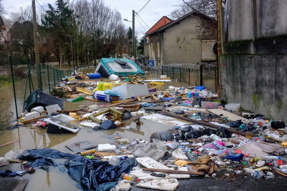 Crue en région parisienne