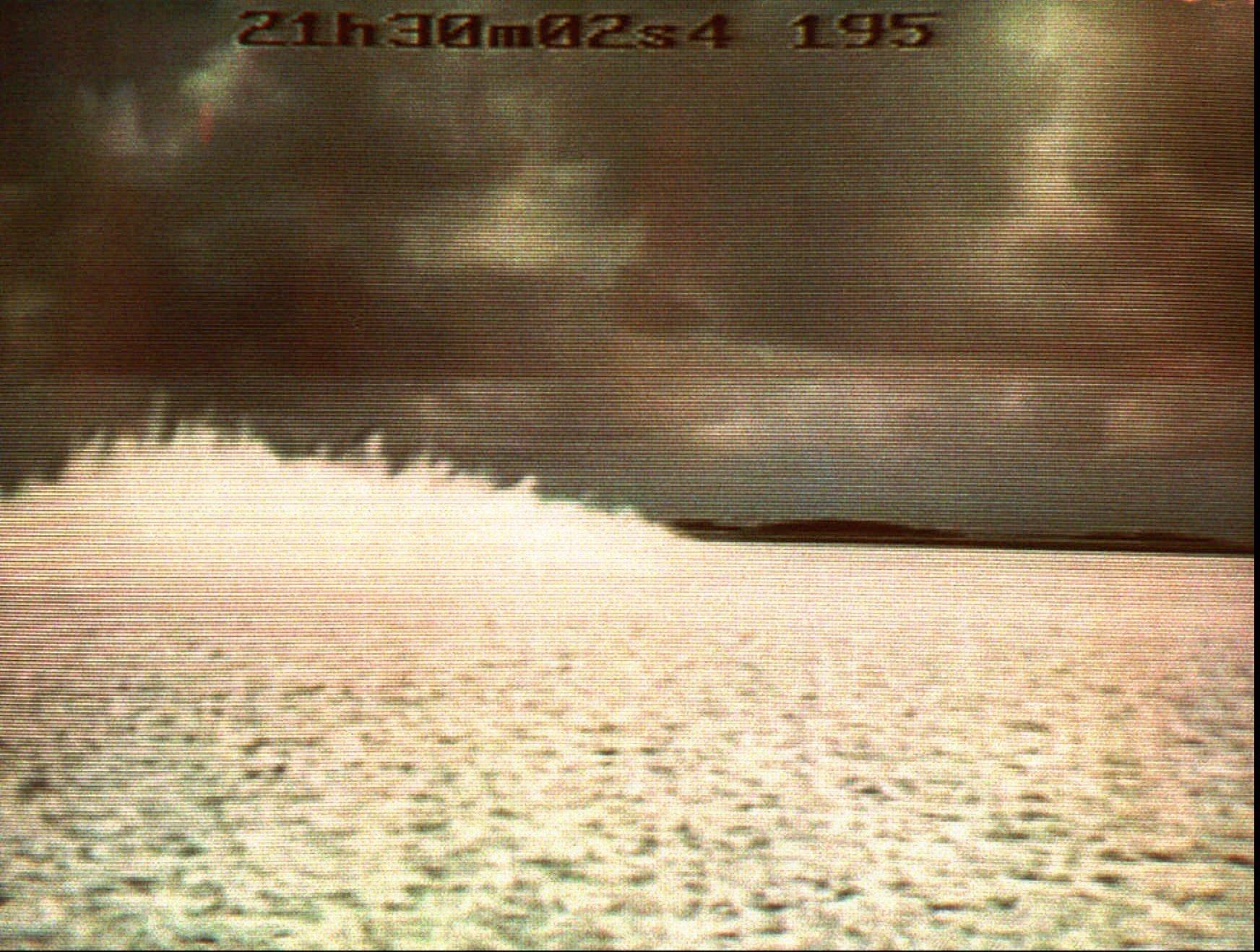 L'eau du Pacifique entre en ébullition après un essai nucléaire français (5 septembre 1995)
