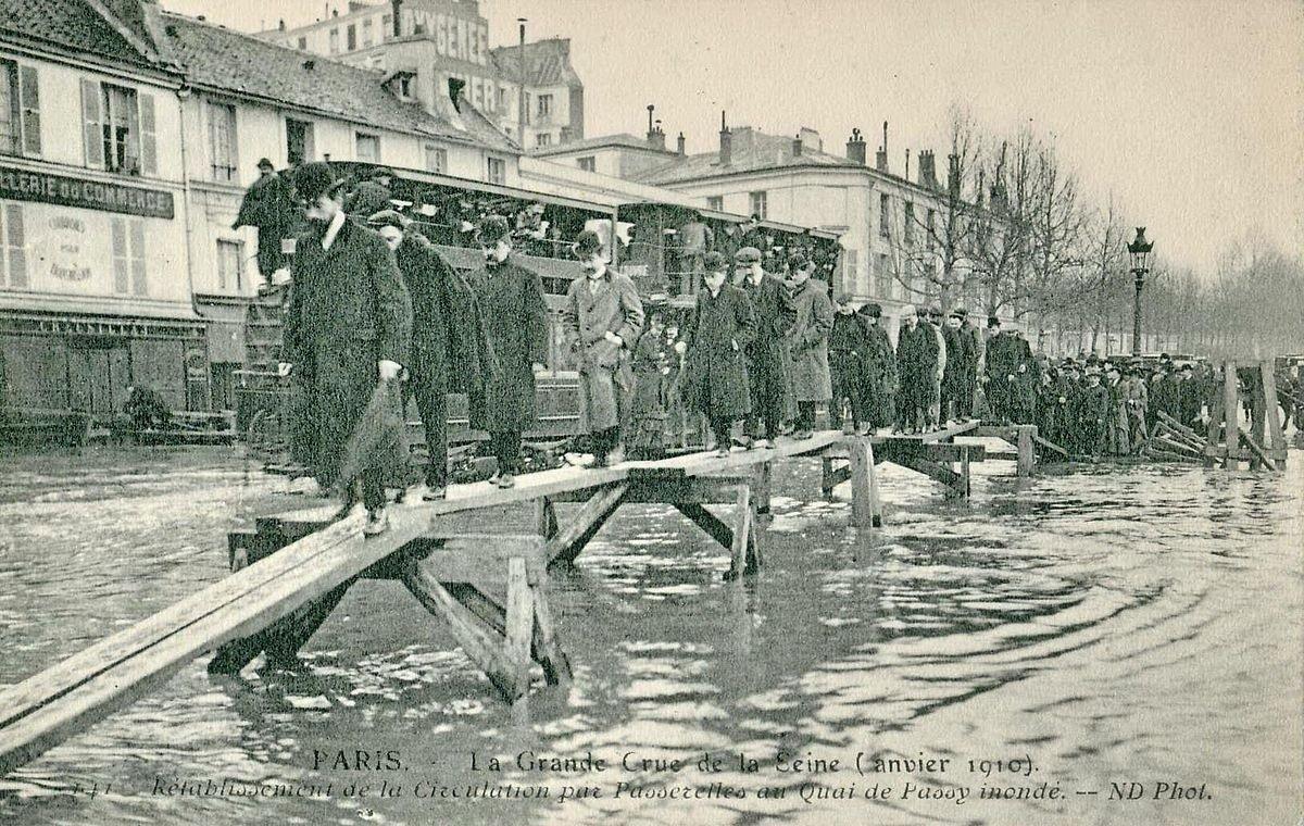 La Grande Crue de la Seine (Janvier 1910)