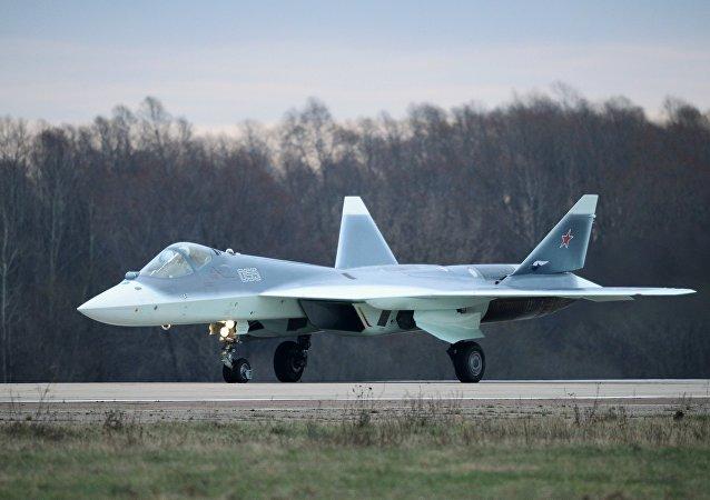 Un chasseur russe de 5e génération Su-57