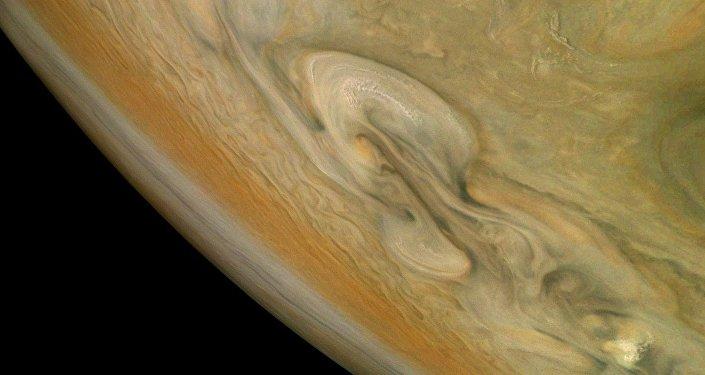 Une tempête sur Jupiter