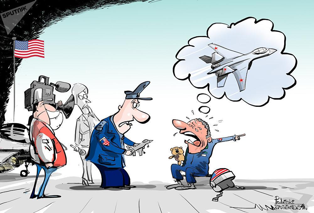 La Marine américaine a qualifié la manœuvre du chasseur russe de «rapprochement dangereux»