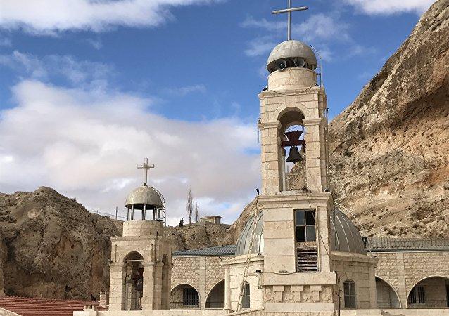 Monastère de Sainte Thècle à Maaloula