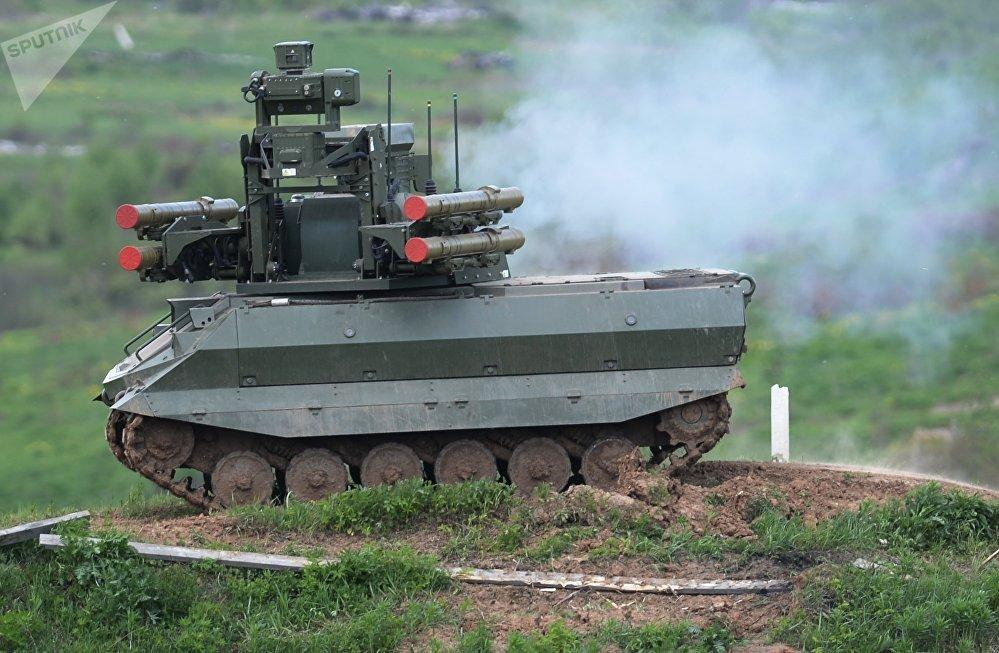 Robot de combat Uran-9