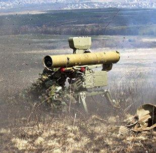 Lance-missile anti-char. Image d'illustration