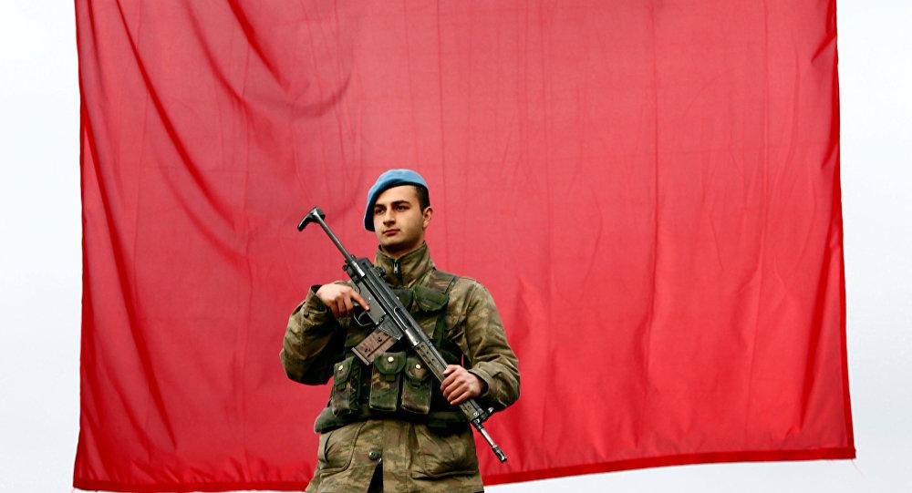 Un militaire turc, image d'illustration