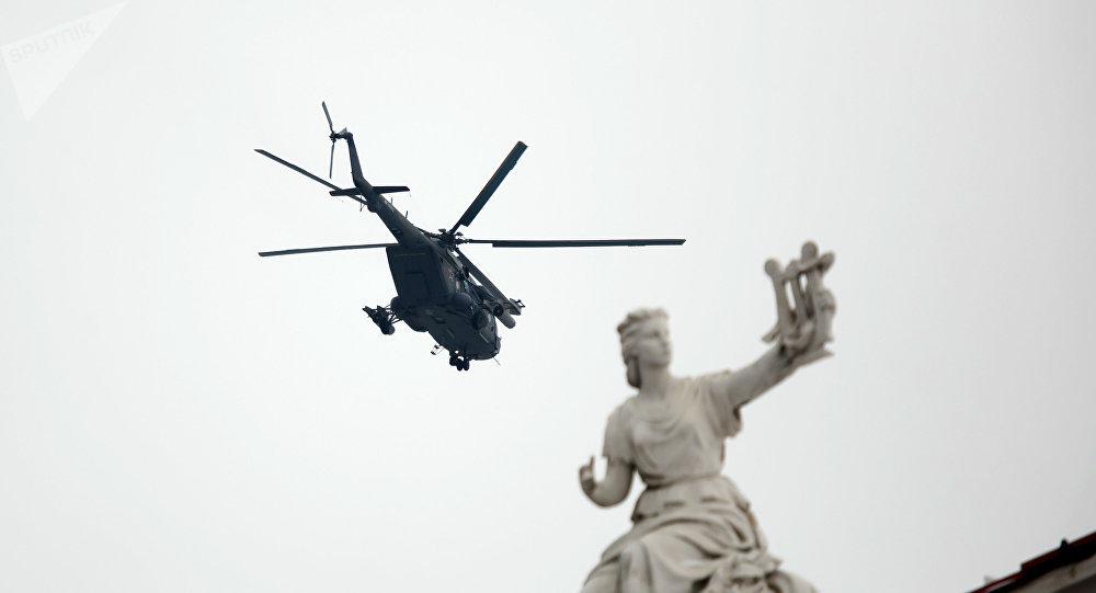 Un hélicoptère russe