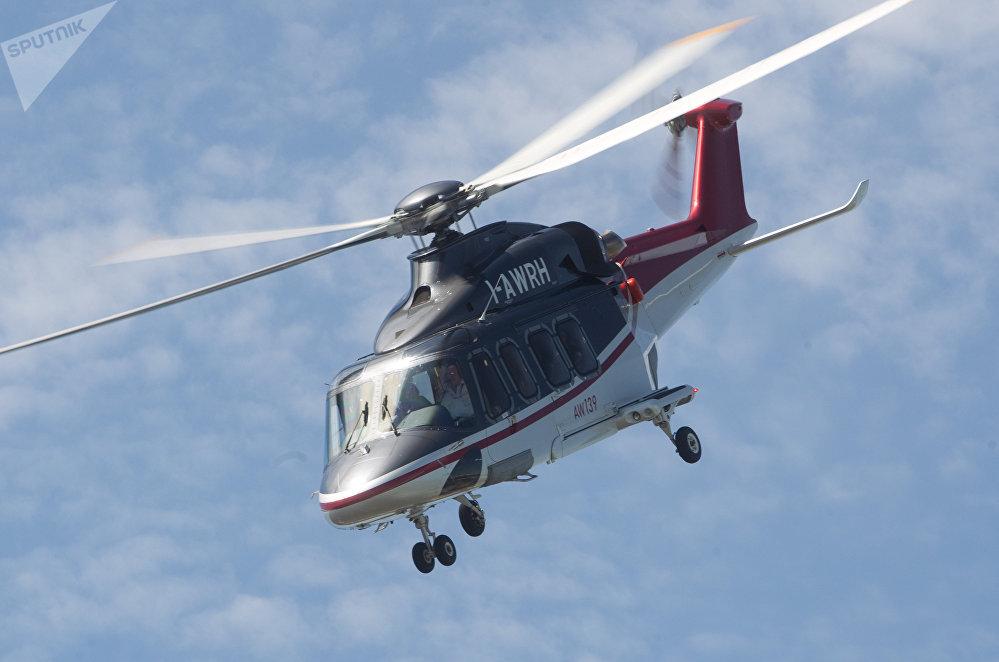 Un hélicoptère AgustaWestland AW139