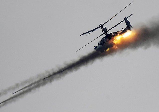 Un hélicoptère Ka-52