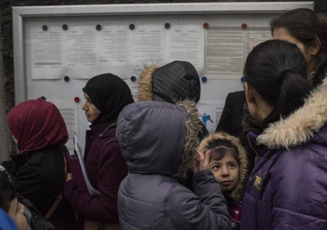 Réfugiés syriens en Turquie. Photo d'archive