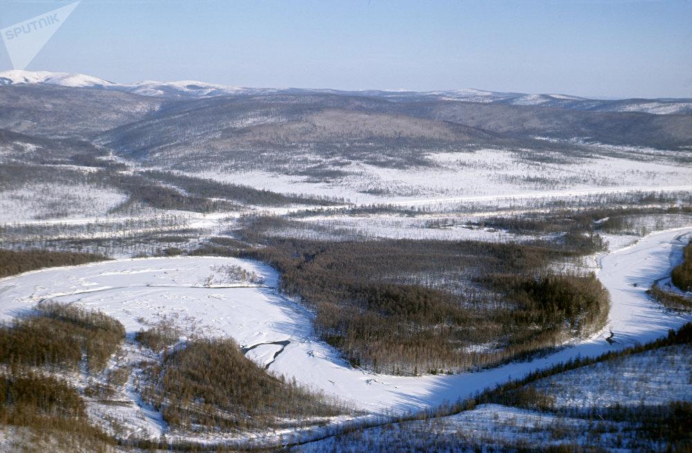 Le pergélisol en Iakoutie (Sakha)