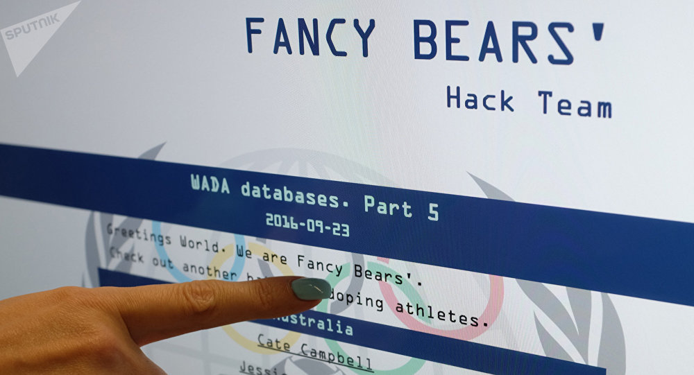 Site de Fancy Bears