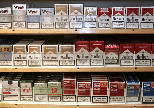 Des cigarettes