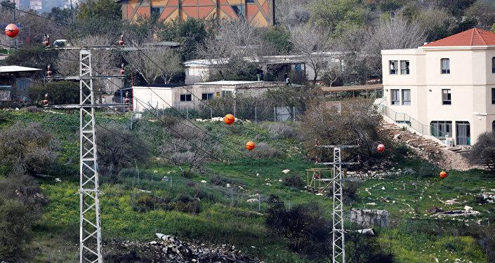 Débris du F-16 israélien