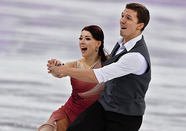 Ekaterina Bobrova et Dmitri Soloviev