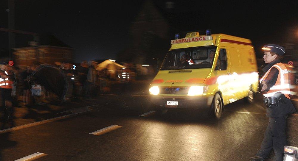 Un ambulance. Photo d'archive