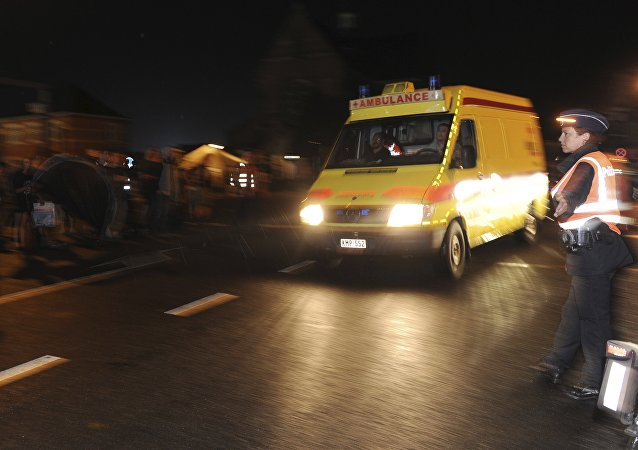 Un ambulance. Photo d'archive