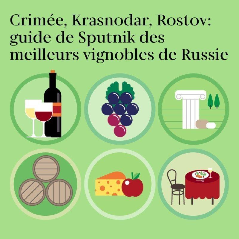 Le guide de Sputnik des meilleurs vignobles de Russie