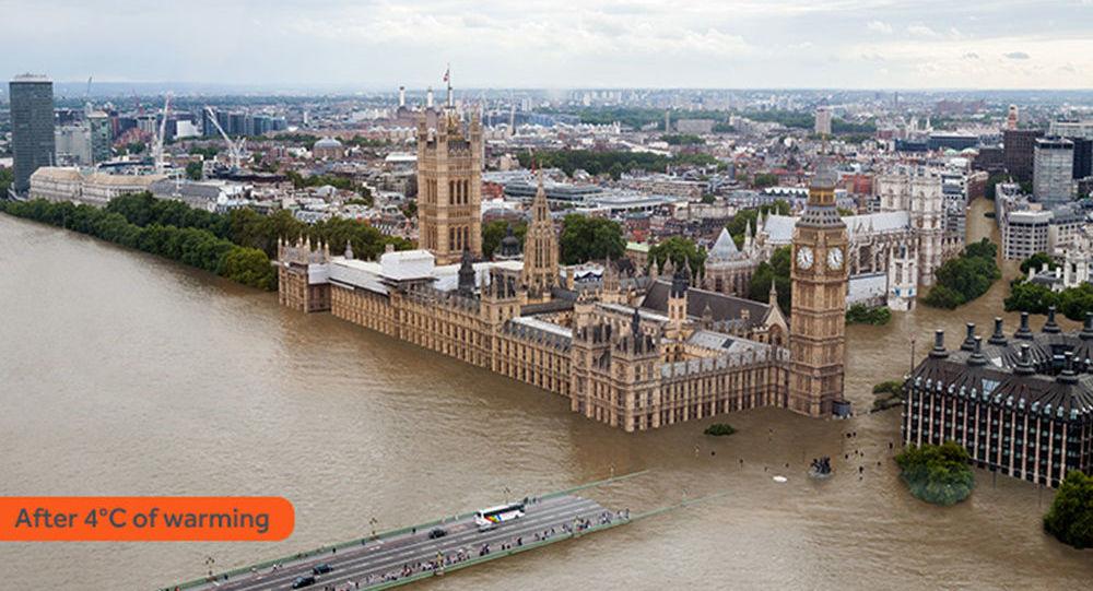 Londres sous les eaux