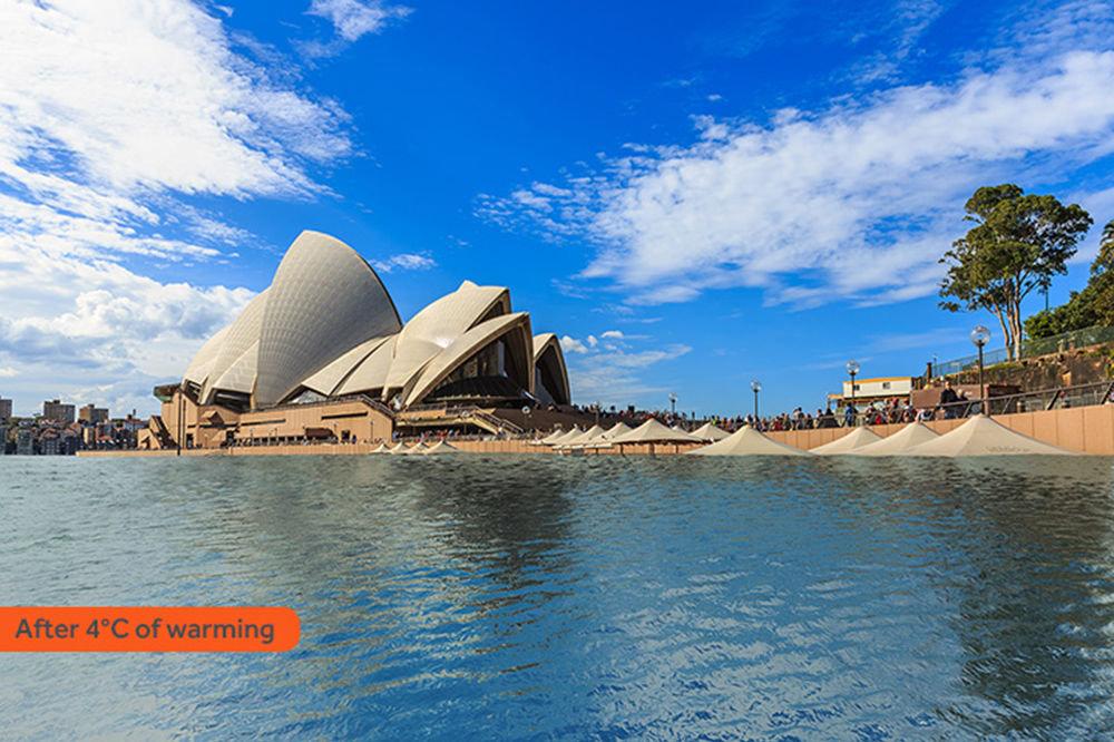 Sydney sous les eaux