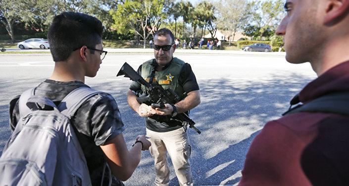 Fusillade dans une école secondaire en Floride