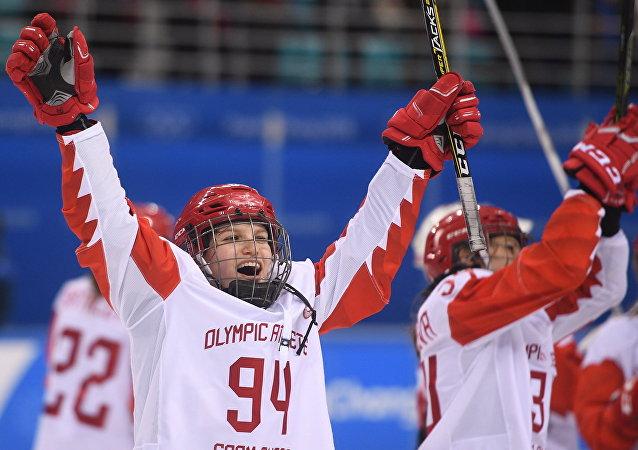 Athlètes olympiques de Russie