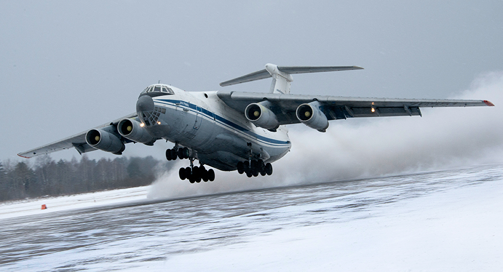L'aviation de transport militaire russe à la conquête des aérodromes polaires