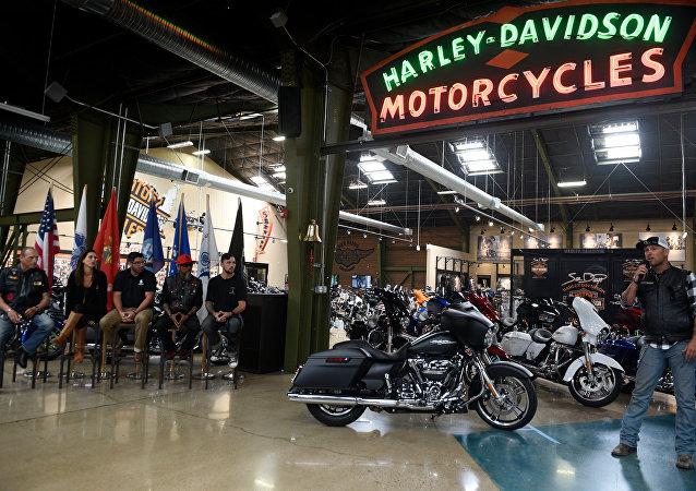 Motos Harley-Davidson